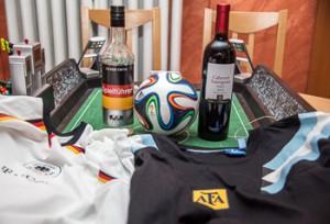 Korn gegen Argentinischen Wein